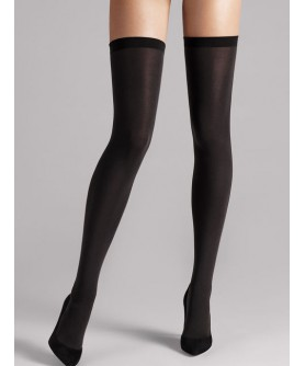 Bas stay-up WOLFORD FATAL 80 DENIERS