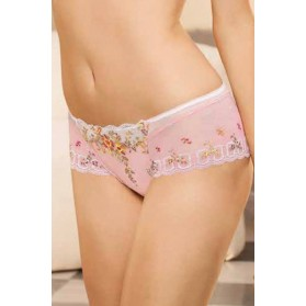 Shorty LISE CHARMEL ROMANTIQUE PASTEL ECAILLE CORAIL