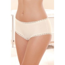 Shorty EPURE DE LISE CHARMEL SATIN SEDUCTION ECRU NACRE