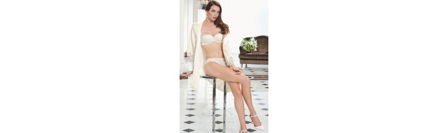 COLLECTION LISE CHARMEL LOVE MAGICIENNE DENTELLE NACRE