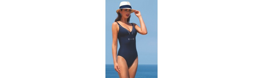 - 50% COLLECTION LISE CHARMEL PLISSE CROISIERE PLISSE NAVY