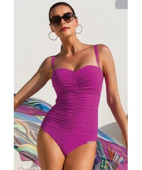 - 50 % COLLECTION LISE CHARMEL COURBES MINCEUR DRAPE FUSHIA