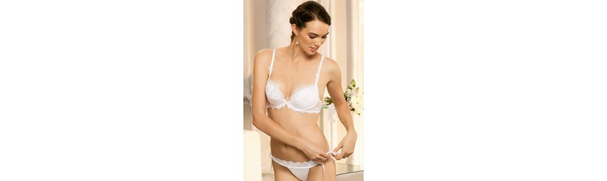 -60% COLLECTION LISE CHARMEL BOHEME DESIR BLANC