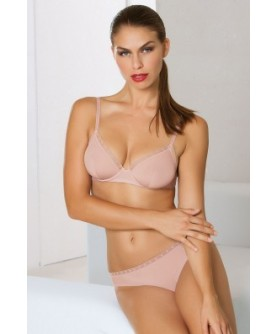 COLLECTION EPURE DE LISE CHARMEL SATIN SEDUCTION HAVANE ROSE