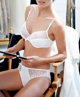 COLLECTION SIMONE PERELE DELICE BLANC