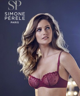 -30% COLLECTION SIMONE PERELE DELICE GRENAT