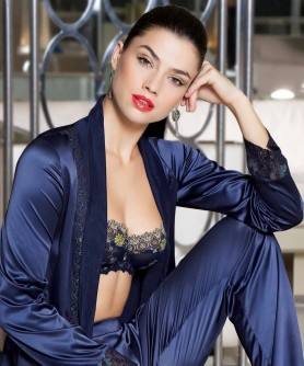 -50% COLLECTION LISE CHARMEL EMAUX GRAPHIC EMAUX BLEU