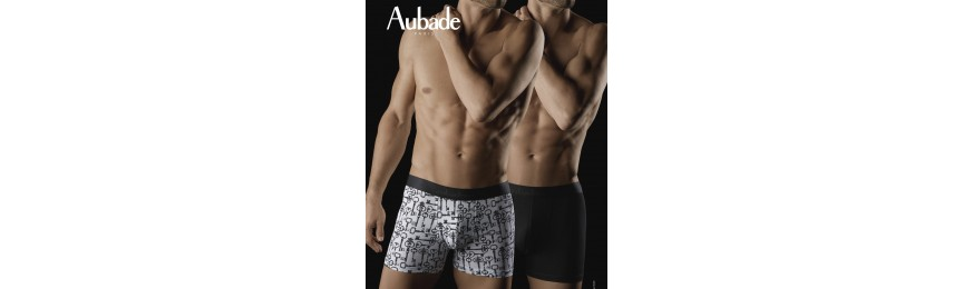 COLLECTION BOXER AUBADE SECRET LOCKS ET NOIR