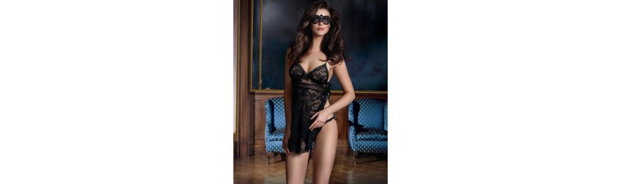 -60% COLLECTION LISE CHARMEL TRANSPARENCE DESIR NOIR