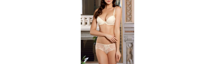 -60% COLLECTION LISE CHARMEL PLAISIR GUIPURE NACRE