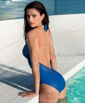 COLLECTION LISE CHARMEL AJOURAGE COUTURE ETRAVE BLEU