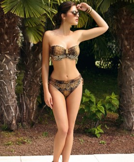 -60% COLLECTION LISE CHARMEL GRIFFE FELINE FELIDE BRUN