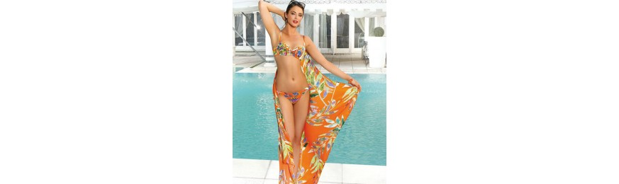 -50% COLLECTION LISE CHARMEL SUMATRA GRAPHIC GRAPHIC ORANGE