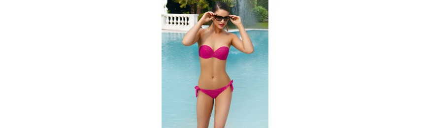 -50% COLLECTION LISE CHARMEL TORSADE LIANE TORSADE FUSHIA