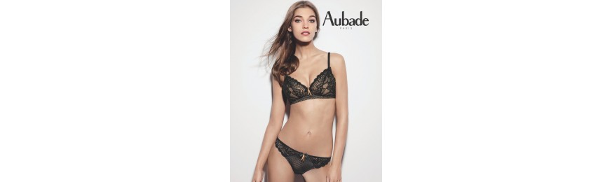 -30% COLLECTION AUBADE ART OF KISSING JET BLACK