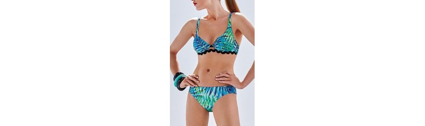 -30% COLLECTION SIMONE PERELE GOSSIP VERT BLEU