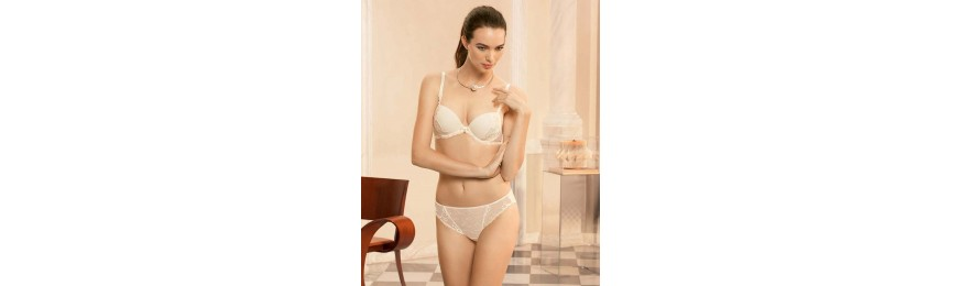 -60% COLLECTION LISE CHARMEL VIBRATION GUIPURE OR NACRE