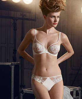 -40% COLLECTION SIMONE PERELE SAGA NACRE