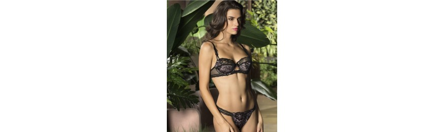 -50% COLLECTION LISE CHARMEL RESILLE LOTUS NOIR LILAS