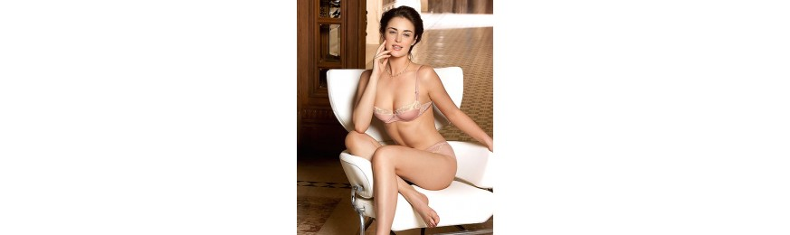-60% COLLECTION LISE CHARMEL SWINGING DECO ROSE ECUME