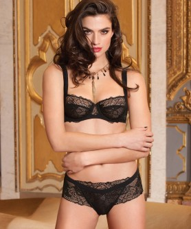 -50% COLLECTION LISE CHARMEL DENTELLE DESIGN NOIR