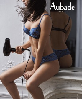 -40% COLLECTION FEMME CHARMEUSE BLEU VELVET