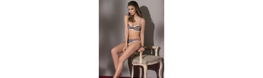 COLLECTION ANTINEA DE LISE CHARMEL REVE BOUDOIR ENCRE BOUDOIR