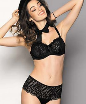 COLLECTION ANTIGEL DE LISE CHARMEL ONDE GRAPHIC NOIR