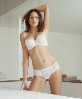 COLLECTION SIMONE PERELE BLOSSOM BLANC
