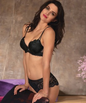 -50% COLLECTION LISE CHARMEL SEXY REBELLE NOIR
