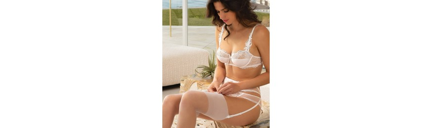 -50% COLLECTION LISE CHARMEL PASSION SOLAIRE BLANC