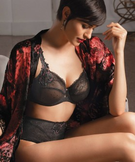 COLLECTION EPRISE DE LISE CHARMEL NUIT LIBERTINE NOIR LIBERTINE