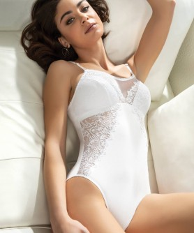 COLLECTION LISE CHARMEL GUIPURE ORFEVRE BLANC
